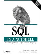 Cover von SQL in a Nutshell