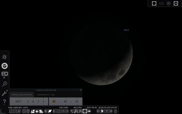 Stellarium unter Linux