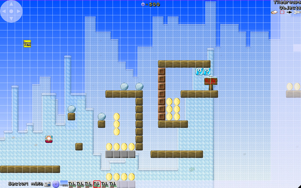 SuperTux 0.5 - Level-Editor