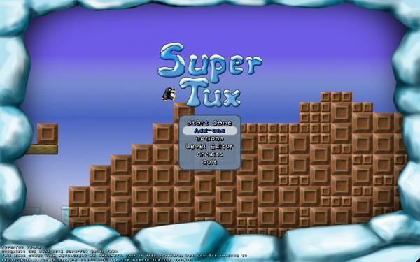 SuperTux 0.5 - Startseite