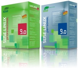 SuSE Linux 9.0 Professional- und Personal-Edition