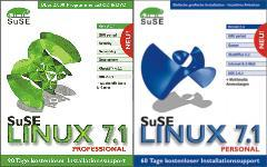 SuSE 7.1 Professional und Personal