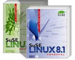 SuSE Linux 8.1 Professional- und Personal-Edition