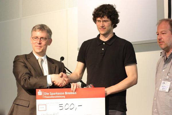 Univention-Absolventenpreis 2012: Dritter Platz - David Saile