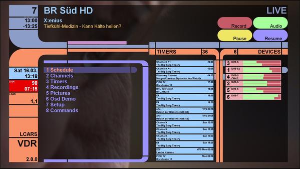 VDR 2 0 0 erschienen - Pro-Linux