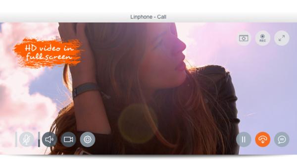Videoanrufe in HD mit Linphone 4
