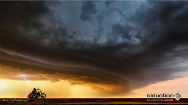 Wallpaper von Riders on the Storm