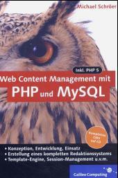 Cover von Web Content Management mit PHP und MySQL
