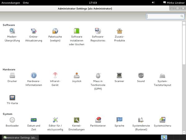 und Gnome/Gtk+ vermag viele Aufgaben automatisch zu erledigen