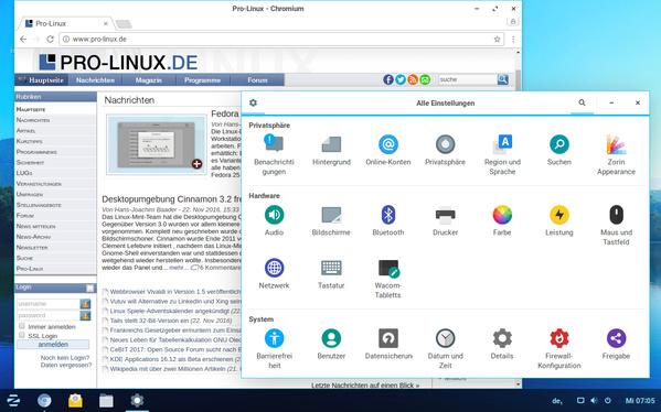 Zorin OS 12 - Anwendungen